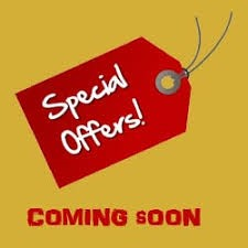 Special offers! - coming soon