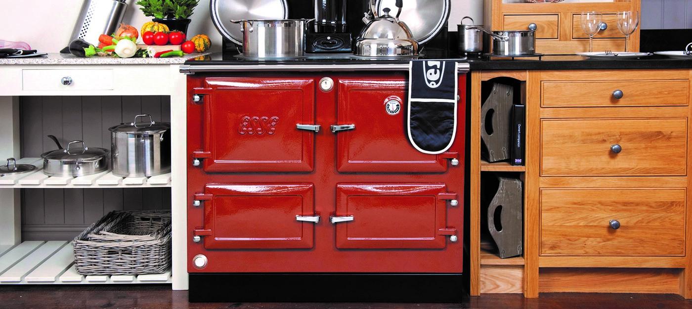 Esse 990 EL Claret four door range cooker