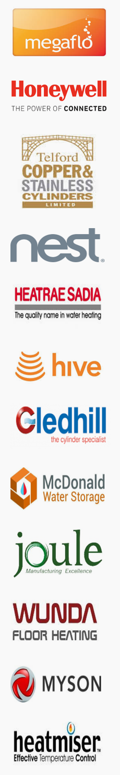 Central Heating and Hot Water brands